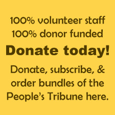 Donate to Peoples Tribune