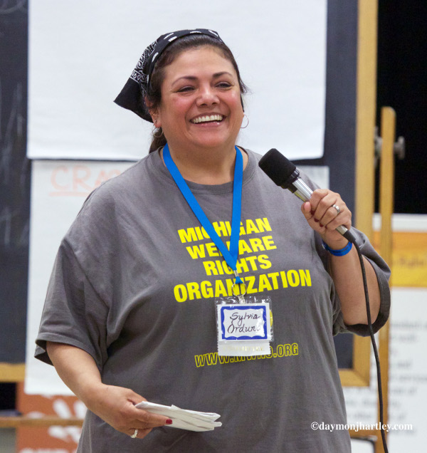 Sylvia Orduño, Michigan Welfare Rights Organization. PHOTO/DAYMONJHARTLEY.COM