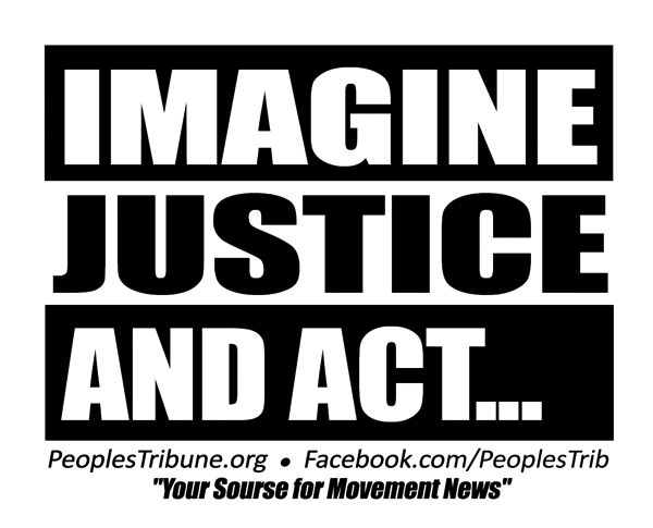 Imagine Justice Postcard