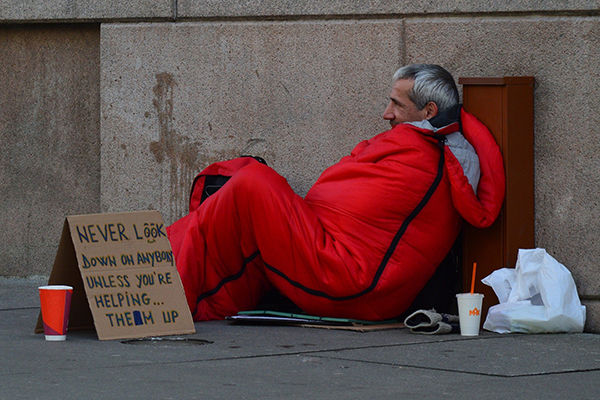 homelessness and poverty in Las Vegas