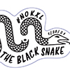 black snake illustration