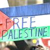 pro Palestine protest sign