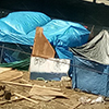 Tents in Oakland