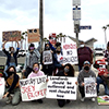 protesters demand housing