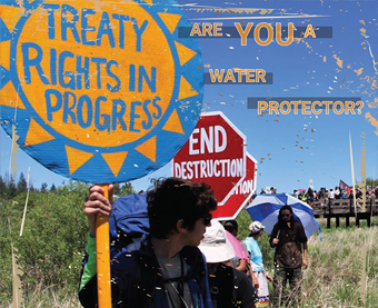 Indigenous People's Movement protest