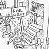 cartoon about evictions